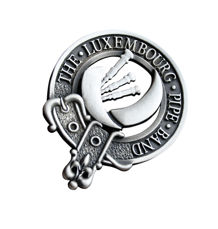 Luxembourg Pipe Band Badge