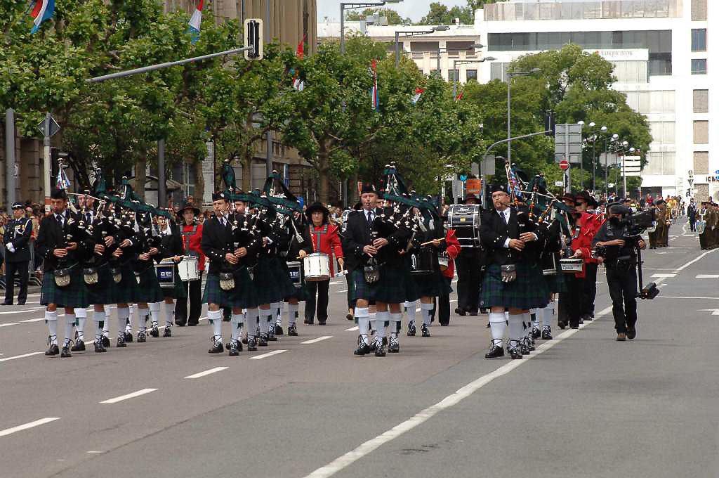 The Luxembourg National Day Parade
